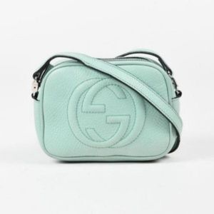 Gucci Soho Disco Seafoam Ocean Wave Mini 195034 Bl
